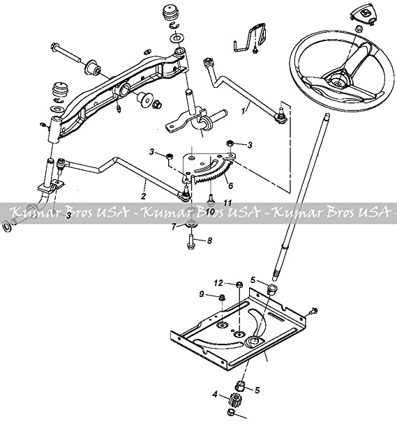 Amazon Com John Deere Tractor Steering Kit D100 D105 D110 D120