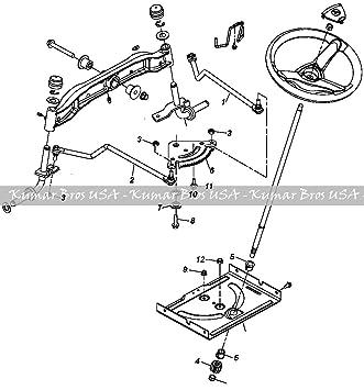 amazon john deere tractor steering kit 102 115 125 135 145 John Deere LA140 Parts Diagram amazon john deere tractor steering kit 102 115 125 135 145 155c 190c 105 garden outdoor
