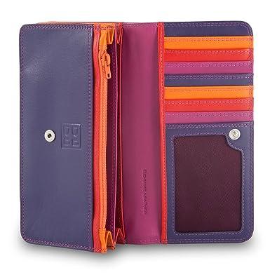 Dudu Portefeuille Portefeuille pour femme multicolor en cuir souple signé Dudu GgD3Gb