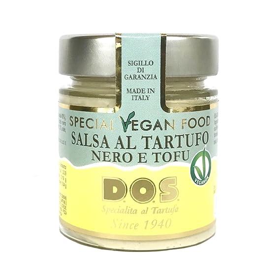 Salsa Vegan de Trufas Negras y Tofu 130g - Producción artesanal Italiana
