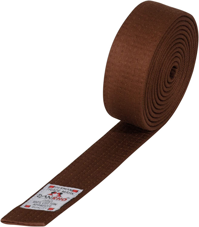 DanRho Taekwondo Judo Ju Jutsu Karate G/ürtel 4 cm einfarbig