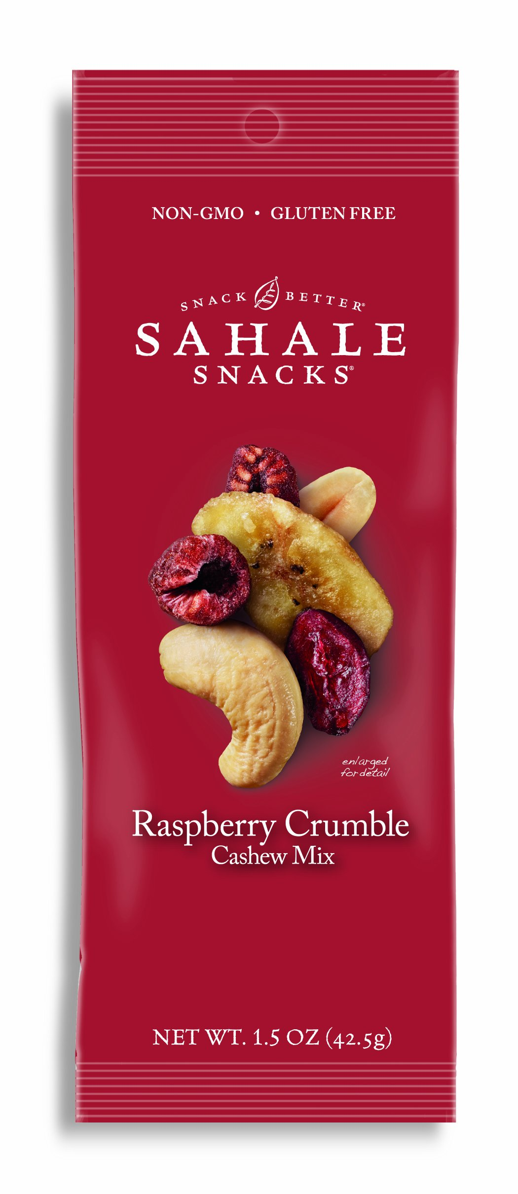 Sahale Snacks Nut Blends Cashew Mix, Raspberry Crumble, 1.5 Ounce (Pack of 9)