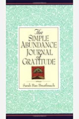 Simple Abundance Journal of Gratitude Hardcover