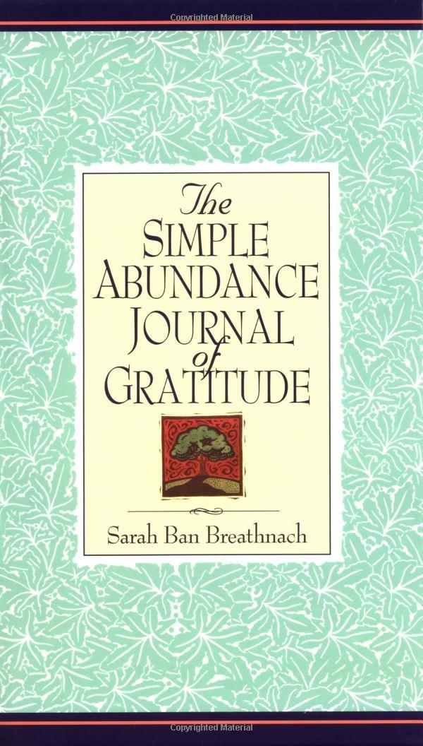 Simple Abundance Journal Gratitude product image