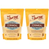 Bob's Red Mill Medium Cornmeal, Whole Grain Stone Ground, 24 Ounce (Pack of 2)