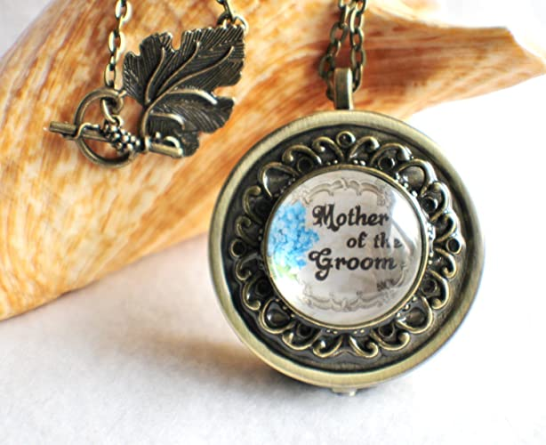 Amazon mother of the groom music box locket handmade mother of the groom music box locket aloadofball