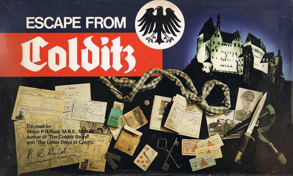 Escape from Colditz, das Brettspiel.