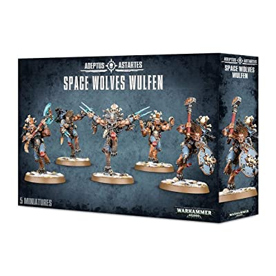 Warhammer 40k Space Wolves Wulfen 2015: Toys & Games