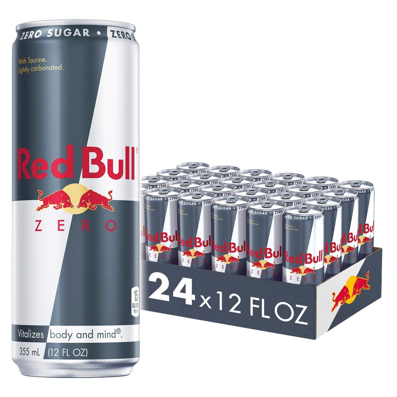 Red Bull Energy Drink, Zero, 24 Pack Of 12 fl oz