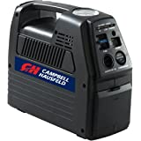 Portable 12 Volt Inflator, Rechargeable, Air Compressor for Tire Inflation, 230 PSI (Campbell Hausfeld CC2300)