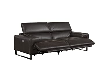 Jamie Living Power Leather Reclining Sofa, Reclinig Loveseat