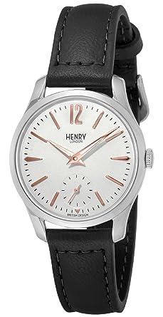 d26ad72e3a5d [ヘンリーロンドン]HENRY LONDON 腕時計 HIGHGATE シルバー文字盤 HL30US0001 レディース 【正規輸入