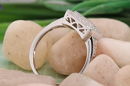 925 Sterling Silver 4.00 Ctw Garnet Gemstone Women Wedding Ring Details about  /Cocktail Ring
