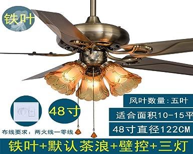 Ventilador de 42 pulgadas lámpara luz Ventilador de techo ...
