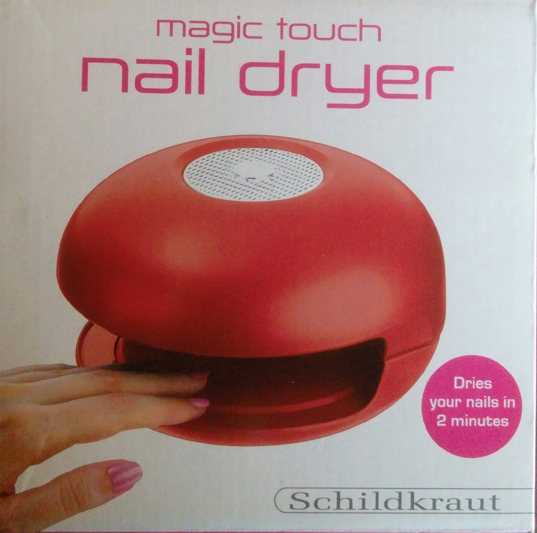 Amazon.com : Magic Touch Nail Dryer -Red : Beauty