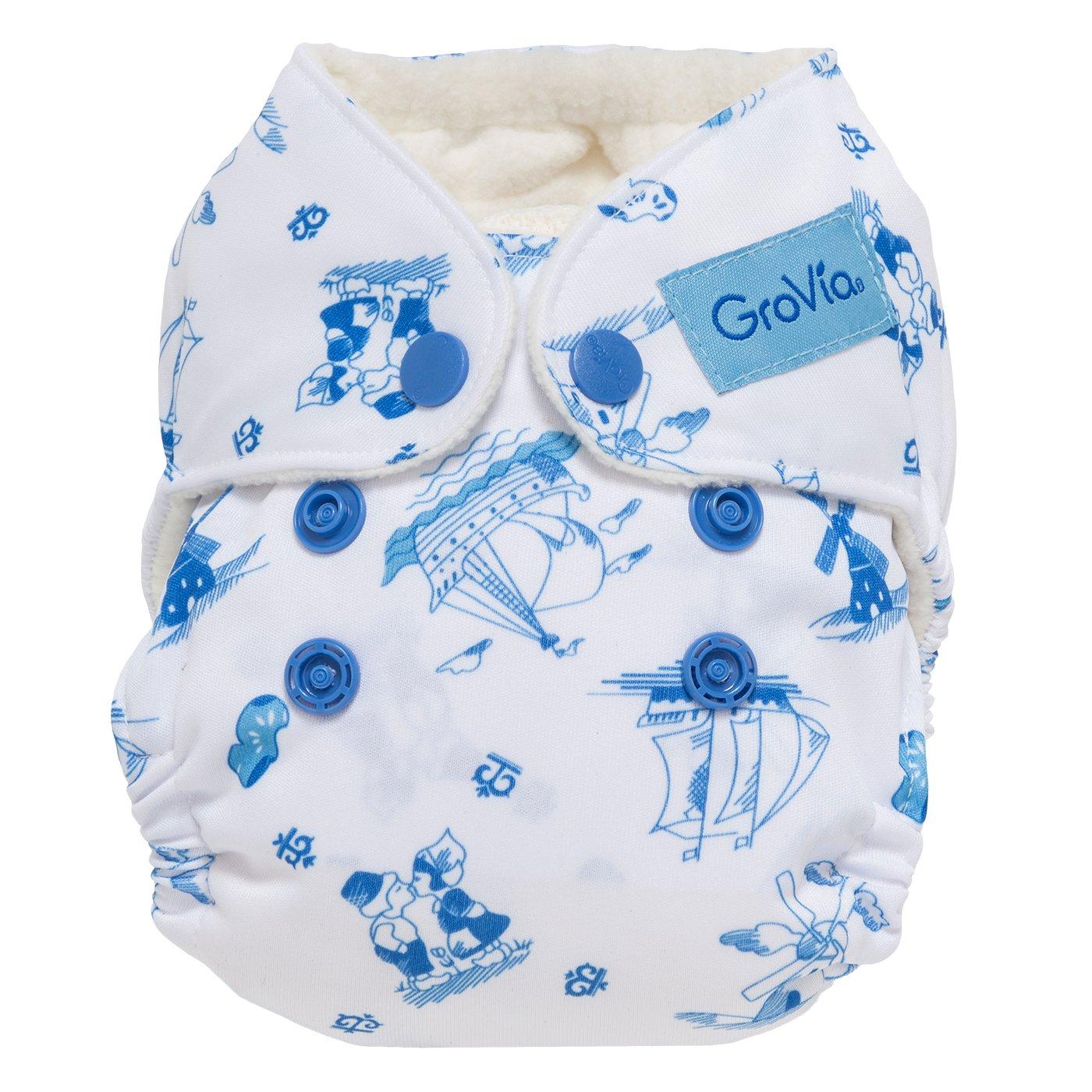 Recién nacido Pañales de tela AIO - Nuevo estilo (Holland): Amazon.es: Bebé