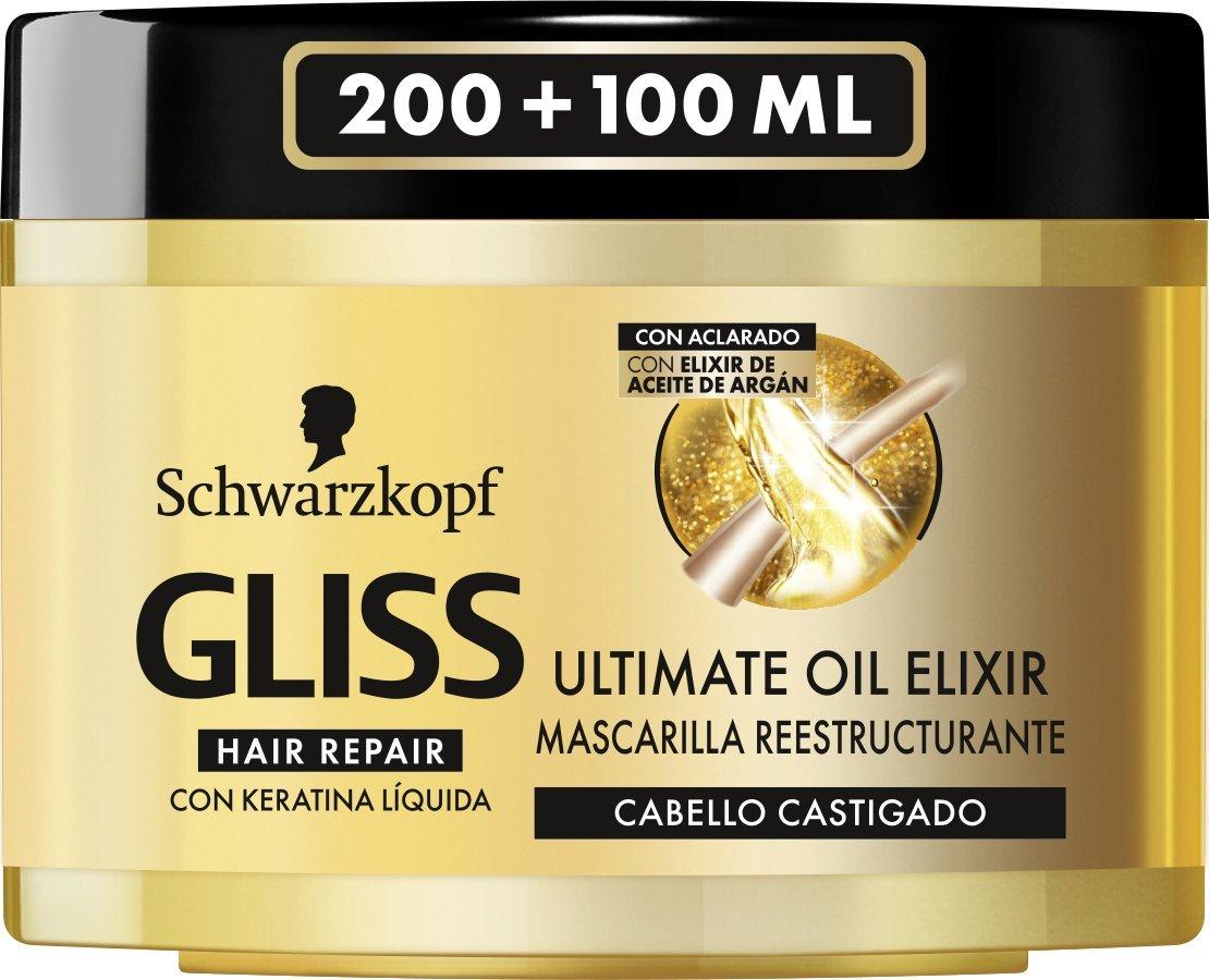 Schwarzkopf Gliss Oil Elixir Mascarilla Masque 8410436278119
