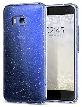 finest selection 91773 30a5d HTC U11 Case, Spigen® [Liquid Crystal] Glitter HTC U11 Case Cover with Slim  Protection and Shiny Bling Premium Clarity for HTC U 11 (2017) - Glitter ...