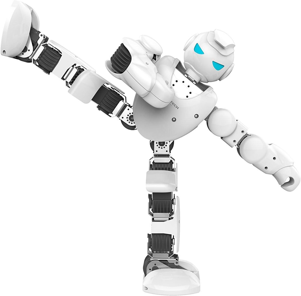 Amazon.es: Ubtech Alpha 1s - Robot Interactivo, Color Negro y Blanco