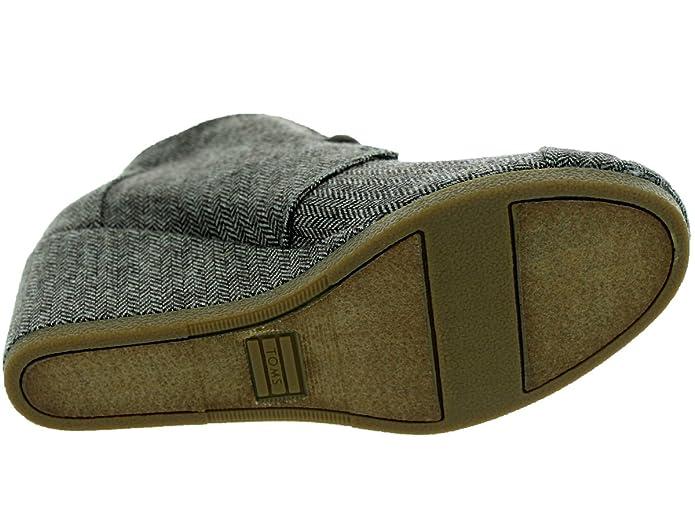 ed4dc7473de TOMS Women s Desert Wedge Herringbone Boot 5 Women UK  Amazon.co.uk  Shoes    Bags