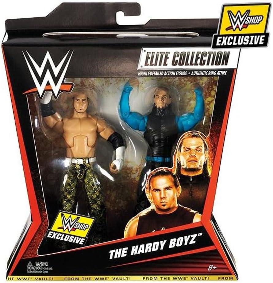 WWE Shop Exclusive de la WWE Vault The HARDY BOYZ Elite 2 Pack Collection