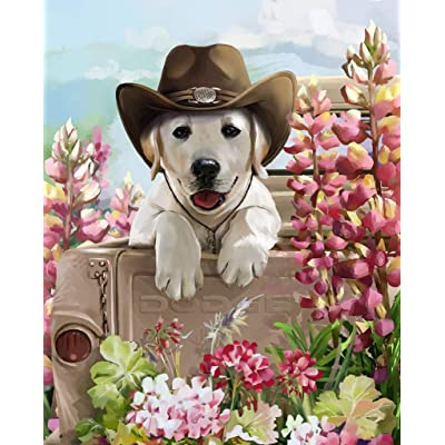 500PCS Dog Jigsaw Puzzle Puppy for Kids Adults, Intellectual Educational Game Learning Decompression, Art Project for Home Wall Decor: Toys & Games