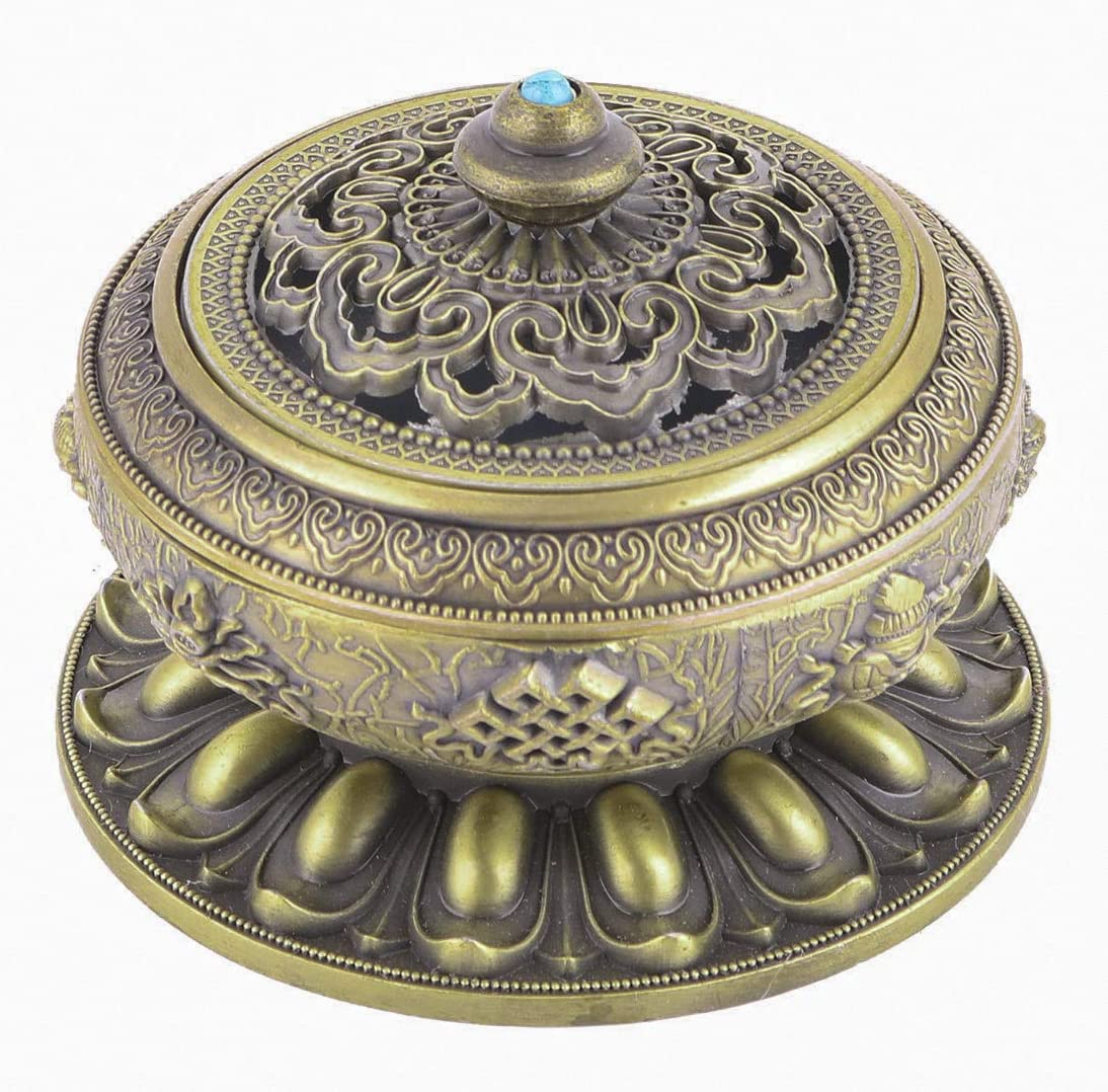 Details about  /Incense Burner Base Holders Ash for Stick Home//Temple Accessory le
