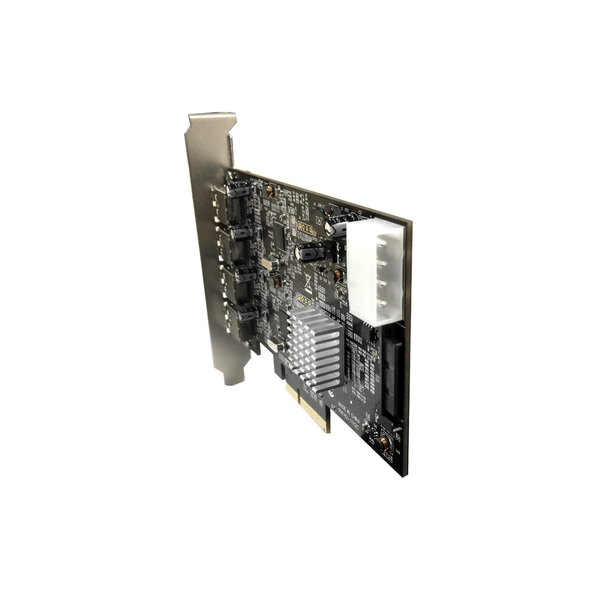 Vantec 4-Port Dedicated 10Gbps USB 3.1 Gen 2 PCIe Host Card with Dual Controller For PCIe x4/x8/x16 slot Black/Silver Black/Silver (UGT-PCE470-2C) by Vantec (Image #8)