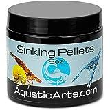Aquatic Arts Sinking Pellets (.5 lb Spirulina Tabs) Freshwater Fish Food (Cichlid Tetra)   Shrimp Pellets   Aquarium Snail Fo