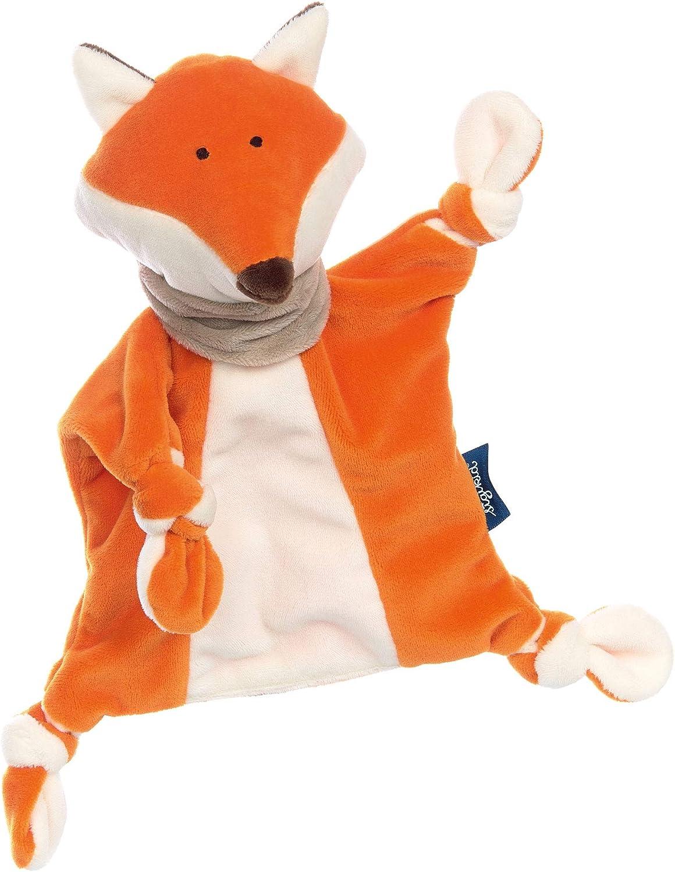Sigikid - Manta para bebé Naranja Zorro