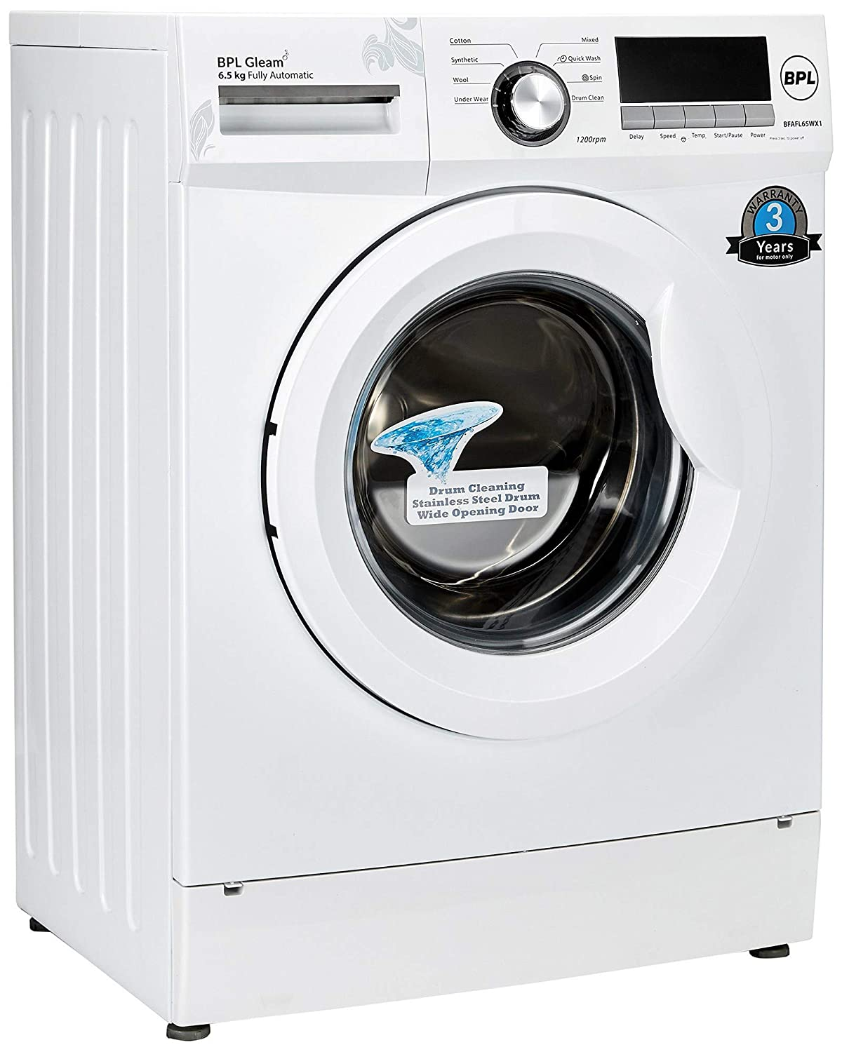 Bpl Washing Machine Wiring Diagram Great Design Of Front Loader 6 5 Kg Automatic Loading Buy Rh Amazon In Kenmore