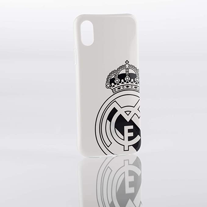Real Madrid Funda Smartphone - Blanca con el Escudo Oficial ...