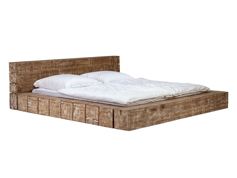 Großartig Massivum Doppel Bett Crusher 180x200 Cm Aus Massiven Mango Holz Und  Akazien Holz Lackiert Bett Gestell: Amazon.de: Küche U0026 Haushalt