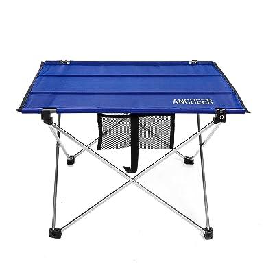 Lonlier Mesa Plegable Portátil de Aluminio Ligera para Camping Picnic al Aire Libre: Amazon.es: Ropa y accesorios