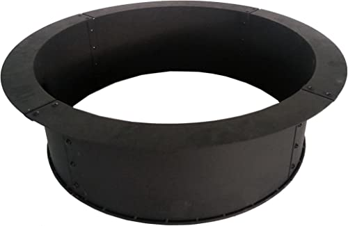 Pleasant Hearth OFW419FR Solid Steel fire Ring
