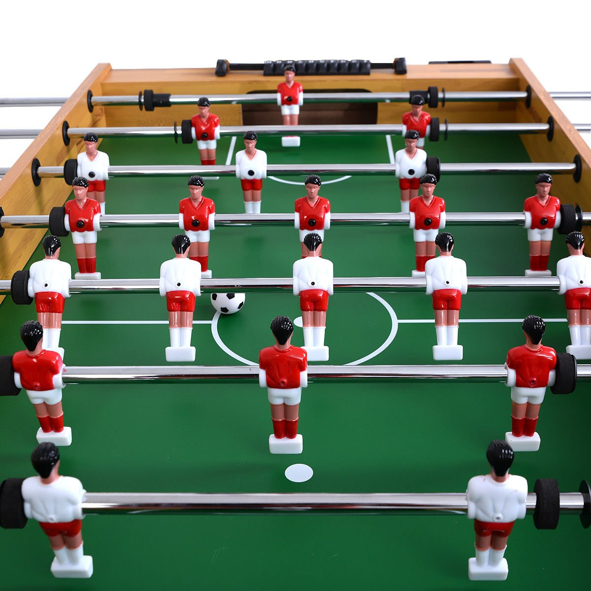 Giantex Foosball Soccer Table 48'' Competition Sized Arcade Game Room Hockey Family Sport by Giantex (Image #7)
