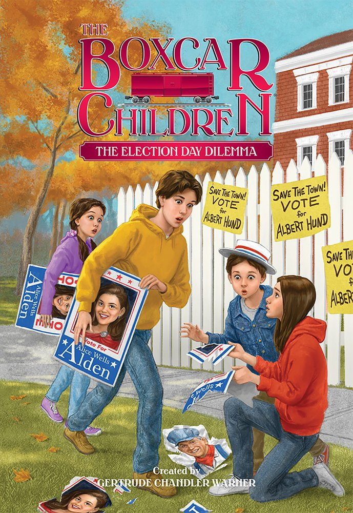 Download The Election Day Dilemma (The Boxcar Children Mysteries) pdf epub
