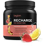 Legion Recharge Post Workout Supplement - All Natural Muscle Builder & Recovery Drink With Micronized Creatine Monohydrate. N