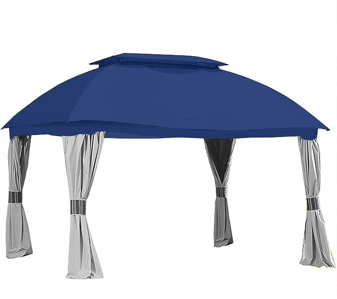 Toldo de Repuesto para Vientos de jardín para el Sams Club Domed Gazebo – Riplock 350: Amazon.es: Jardín
