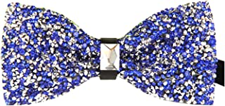 MENDENG Men's New Stylish Sequin Bow Ties Wedding Formal Pre-tied - Many Colors