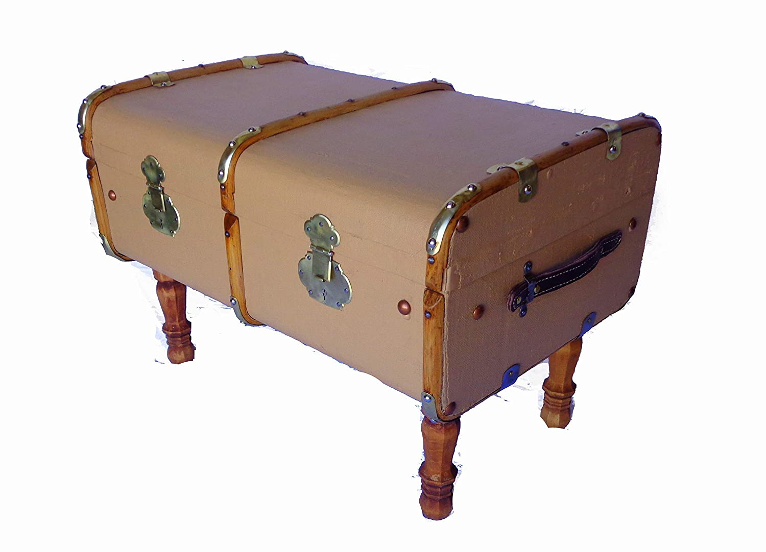 Amazon Com Trunk Coffee Table Trunk Antique Trunk Storage Chest