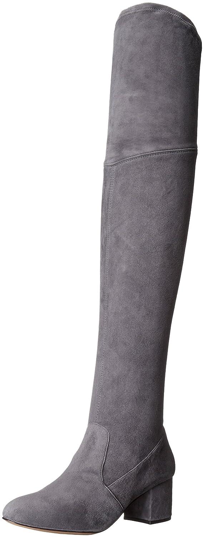 SCHUTZ Women's Tamarah Slouch Boot B01F46JQ5E 6 B(M) US|Slate Gray