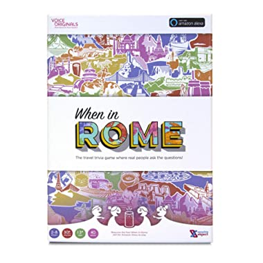 Voice Originals - When in Rome Travel Trivia Game Powered by Alexa