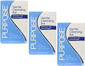Purpose Gentle Cleansing Bar 6 Oz (Pack of 3)