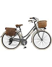Via Veneto by Canellini Bicicletta Bici Citybike CTB Donna Vintage Retro Via Veneto Alluminio