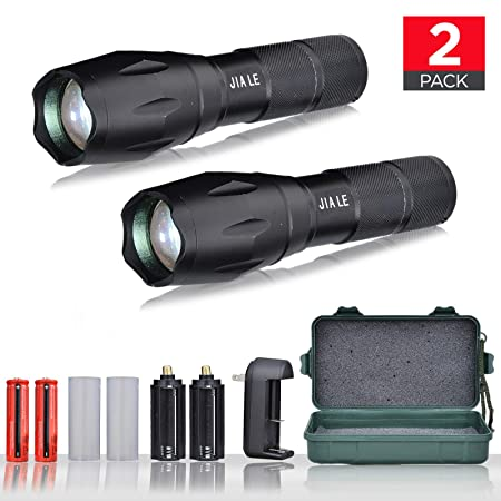 Review JIA LE Tactical Flashlight