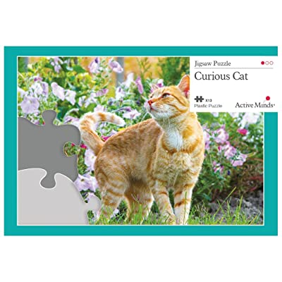 Active Minds 13 Piece Curious Cat Jigsaw Puzzle | Specialist Alzheimer's/Dementia Activities & Games: Health & Personal Care