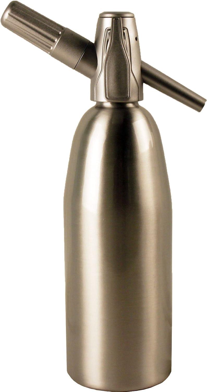 Sparkle Soda Siphon-Silver Creamright SODA-FX-100-BA
