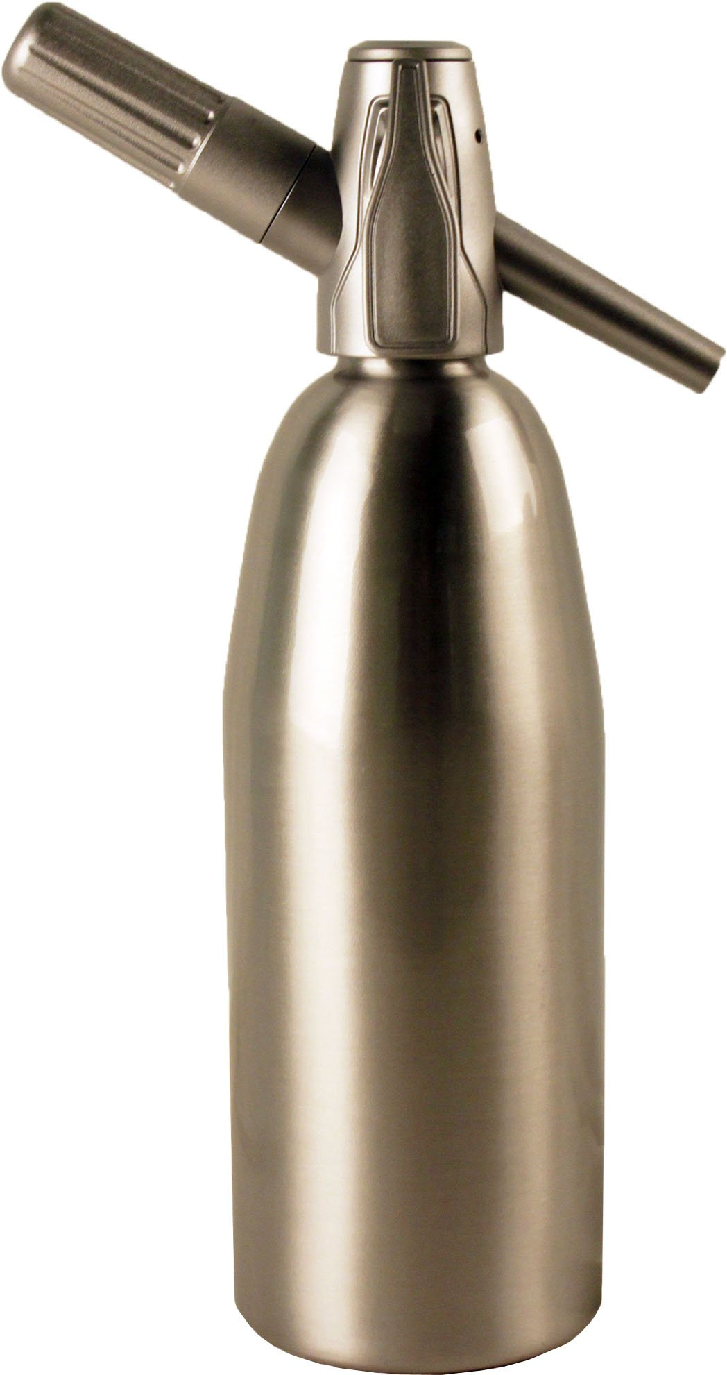 Creamright Sparkle Soda Siphon-Silver by Creamright