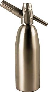 Sparkle Soda Siphon-Silver